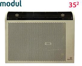 გაზის გამათბობელი MODULI AOG-3SP White 35 მ² - 1 წლიანი გარანტიით
