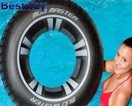 საცურაო კამერა Bestway 36016 Mud Master Tyre Swimming Ring