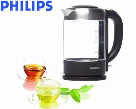 ელექტრო ჩაიდანი Philips HD9340/90 Glass Kettle - 1 წლიანი გარანტიით