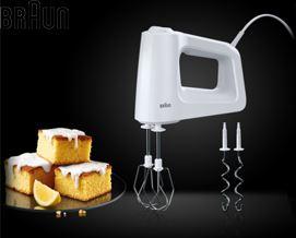 მიქსერი Braun MultiMix 3 Hand Mixer HM3000WH  - 1 წლიანი გარანტიით