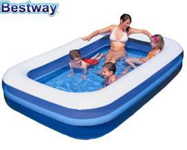 გასაბერი აუზი Bestway 54006 Rectangular Family Pool